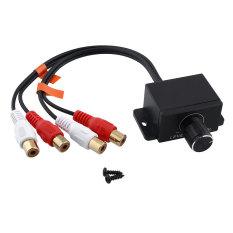 Universal Mobil Home Amplifier Bass RCA Gain Remote Volume Knob LC-1