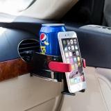 Toko Universal Car Air Vent Minuman Holder Plastic Cup Dudukan Telepon Internasional Yang Bisa Kredit