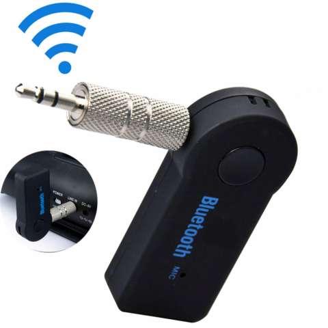 Universal Car Bluetooth V.3 Music Audio Stereo Adapter 3.5mm 3