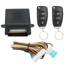 Universal Car Door Lock Keyless Entry System w/ Trunk Release Button Remote Central Control Box Kit - intl