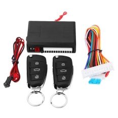 Universal Car Door Lock Keyless Entry System with Trunk Release Remote Central Control Kit - intl