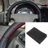 Toko Universal Mobil Kendaraan Kulit Sintetis Steering Wheel Rim Cover With Thread Online Tiongkok