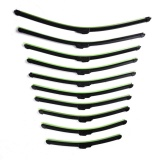 Harga Universal Mobil Wiper Bilah U Tipe Soft Frameless Bracketless Karet Mobil Bersih Wiper Kaca Depan Tipe I 24 Inch Intl Termahal