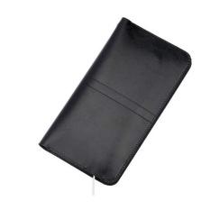 Kualitas Universal Dompet Kulit Smartphone Iphone 6 6S Black Universal