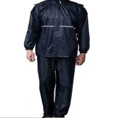 Jual Universal High Quality Motorcycle Waterproof Rain Coat Jas Hujan Size Xxxl Hitam Branded Original