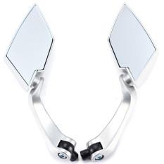 Harga Universal Motor Vespa Modifikasi Cermin Sisi Spion Belakang Cermin 8Mm 10Mm Putih Paling Murah