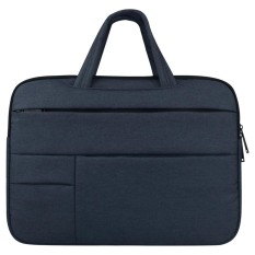 Universal Multiple Pockets Wearable Oxford Cloth Soft Portable Leisurely Handle Laptop Tablet Bag, For 15.6 inch and Below Macbook, Samsung, Lenovo, Sony, DELL Alienware, CHUWI, ASUS, HP (navy) - intl