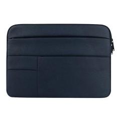 Universal Beberapa Kantong Wearable Kain Oxford Lembut Portable Santai Tablet Laptop, untuk 13.3 Inch dan Di Bawah Macbook, Samsung, Lenovo, Sony, Dell Alienware, CHUWI, ASUS, Hp (navy)-Intl