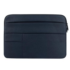 Universal Multiple Pockets Wearable Oxford Cloth Soft Portable Leisurely Laptop Tablet Bag, For 15.6 inch and Below Macbook, Samsung, Lenovo, Sony, DELL Alienware, CHUWI, ASUS, HP (navy) - intl