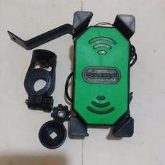 Toko Universal Phone Holder Motor Charger Untuk Hp Gps Model Universal Carger 2A Lengkap
