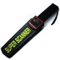 Toko Universal Super Scanner Handheld Metal Detector Hitam Murah Di Dki Jakarta