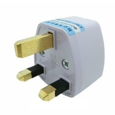 Universal Seluruh Dunia Perjalanan Ac Power Adaptor Charger Steker Konverter Uk Plug 250 V-Intl By Costel.
