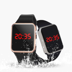 Harga Versi Upgrade Dari Renang Tahan Air Silicone Electronic Table Fashion Siswa Apple Cermin Led Watch Intl Dan Spesifikasinya