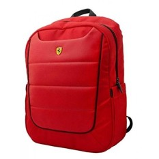 USA Ferrari Scuderia Backpack - Red - Black Piping -15 - intl