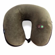 Ongkos Kirim Usb Battery Powered Multi Function Electric Massage U Pillow Cervical Massage Pillow Intl Di Tiongkok