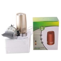 USB Car Air Cleaner Purifier Portable Mini HEPA Filter Ionizer Penyegar-Intl