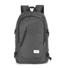 Spesifikasi Usb Charge Antarmuka Laptop Backpack Travel Notebook Pria Wanita Tas Bahu Hitam Internasional Dan Harganya