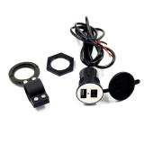 Tips Beli Sepeda Motor Ponsel Power Supply Usb Port Charger Soket 12 V Hitam