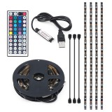 Beli Usb Rgb Colour Change 5050 Led Strip Computer Tv Pc Backlight Light Remote Kit Intl Pakai Kartu Kredit