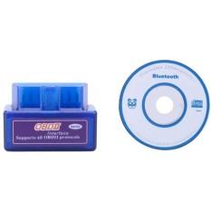V1.5 Mini ELM327 OBDII OBD2 Mobil Bluetooth Diagnostik Antarmuka Scanner-Intl