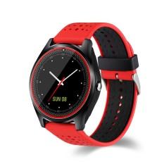 V9 Smart Watch Mendukung NANO SIM Kartu dan TF Card Smartwatch dengan WhatsApp dan Facebook Jam Tangan Pintar Fitnes untuk IOS Android Ponsel -Intl