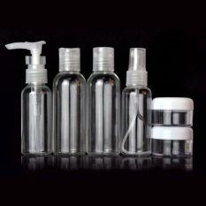 Vanker 6 Buah Perjalanan Luar Ruangan Portabel Mencuci Botol Plastik Kotak Penyimpanan Parfum Dan Kosmetik Oem Diskon