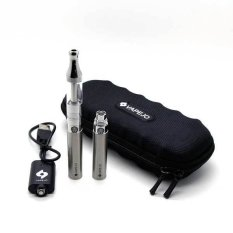 Vapejo Classic Ii Mini Dual Starter Kit With Extra Battery And Free Liquid Personal Vaporizer Rokok Elektrik Ecig Steel Murah