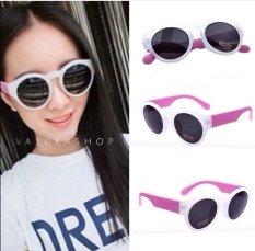 Harga Vasckashop Kacamata Spy Oval White Pink Termurah