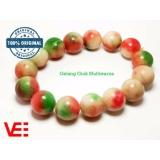 Katalog Vee Gelang Kesehatan Giok Natural Pancawarna Vee Accessories Terbaru