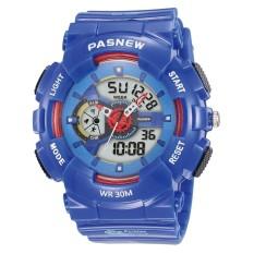 Veecome Modis Kasual Jam Tangan Elektronik Anti-Air Semua-Cocok Arloji untuk Bisnis Olahraga Kasual Warna: Angkatan Laut Biru-Internasional