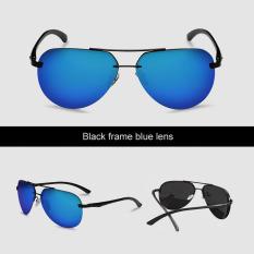 Spesifikasi Veithdia 143 Pria Desainer Merek Kacamata Terpolarisasi Aluminium Uv400 Hitam Lis Biru Lensa Untuk Pria Beserta Harganya