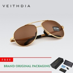 Harga Veithdia 2017 Baru Merek Polarized Sunglasses Men Aluminium Paduan Bingkai Kacamata Kacamata Mengemudi Kacamata 1306 Intl Yang Murah Dan Bagus
