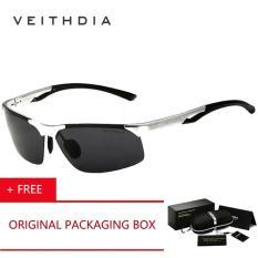 Review Tentang Veithdia 2017 Original Brand Kacamata Terpolarisasi Mengemudi Aksesoris Kacamata Eyewear Aluminium Magnesium Alloy Frame Kacamata Hitam 6591 Silver Beli 1 Gratis 1 Freebie