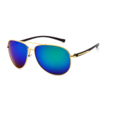 Toko Veithdia 2362 Pria Desainer Merek Kacamata Terpolarisasi Tr90 Uv400 Bingkai Emas Biru Lensa For Pria Terlengkap Di Tiongkok