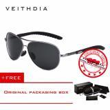 Diskon Veithdia 3088 Kacamata Pria Hitam Aluminium Sport Dan Travel Elegant Mirrored Uv400 Polarized Sunglasses Free Kotak Hardcase Veithdia Di Jawa Barat