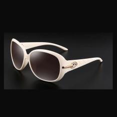 Harga Veithdia 6214 Fashion Merek Wanita Designer Sunglasses Polarized Metal Uv400 Bingkai Putih Abu Abu Lensa Untuk Wanita Intl Origin