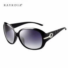 Jual Beli Veithdia 6214 Wanita Desainer Merek Kacamata Terpolarisasi Logam Uv400 Hitam Lis Abu Abu Lensa Untuk Wanita China Tiongkok