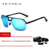 Veithdia 6521 Aluminium Magnesium Terpolarisasi Kacamata Hitam Pria Square Vintage Buy 1 Get 1 Freebie Intl Veithdia Diskon 30