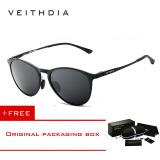 Veithdia Adapula Retro Magnesium Aluminium Merek Kacamata Hitam Vintage Eyewear Lensa Terpolarisasi Aksesoris Pria Wanita Kacamata Matahari 6625 Hitam Membeli 1 Mendapatkan 1 Hadiah Murah