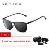 Beli Veithdia Adapula Retro Magnesium Aluminium Merek Kacamata Hitam Vintage Eyewear Lensa Terpolarisasi Aksesoris Pria Wanita Kacamata Matahari 6630 Hitam Membeli 1 Mendapatkan 1 Hadiah Lengkap