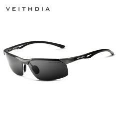 Jual Veithdia Aluminium Magnesium Merek Klasik Kacamata Hitam Pria Polarzed Sun Glasses Eyewear Aksesoris Oculos For Pria Pria 6591 Murah