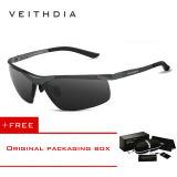 Miliki Segera Veithdia Aluminium Magnesium Polarized Lens Mens Sunglasses Driver Mirror Sun Kacamata Male Fishing 6501 Abu Abu Beli 1 Gratis 1 Freebie