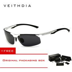 Toko Veithdia Aluminium Magnesium Polarized Mens Sunglasses Rimless Mengemudi Sun Kacamata Olahraga Luar Eyewear Aksesoris Pria Pria 6591 Silver Beli 1 Mendapatkan 1 Freebie Intl Terlengkap Tiongkok