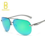 Toko Veithdia Aluminum Magnesium Sunglasses Polarized Sports Men Coating Mirror Driving Sun Glasses Oculos Male Eyewear Accessories (Green) Buy 1 Get 1 Freebie Intl Lengkap Di Tiongkok