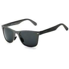 VEITHDIA Aluminium Laki-laki Matahari Kacamata Terpolarisasi Cermin Mengemudi Memancing Kolam Kacamata Aksesoris Kacamata Hitam
