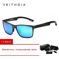 Jual Veithdia Aluminium Kacamata Terpolarisasi Lensa Pria Berjemur Kacamata Cermin Perempuan Mengemudi Memancing Eyewears Aksesoris 6560 Biru Antik
