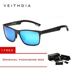 Spesifikasi Veithdia Aluminium Kacamata Terpolarisasi Lensa Pria Berjemur Kacamata Cermin Perempuan Mengemudi Memancing Eyewears Aksesoris 6560 Biru Murah Berkualitas