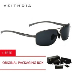 Beli Veithdia Brand 2017 Polarized Men S Sunglasses Aluminum Frame Sun Glasses Driving Eyewear Accessories Kacamata Hitam For Men Oculos De Sol Masculino 2458 Gray Kacamata Hitam Buy 1 Get 1 Freebie Pakai Kartu Kredit