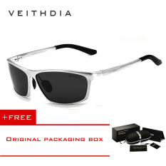 Merek Veithdia Terpolarisasi Aluminium Bungkus Mens Sun Glassesmale Olahraga Outdoor Cermin Kacamata untuk Pria 6520 (