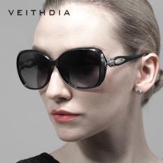 VEITHDIA Merek Retro TR90 Vintage Mengemudi Berjemur Kacamata Terpolarisasi Mewah Ladies Designer Wanita Sunglasses Kacamata Oculos
